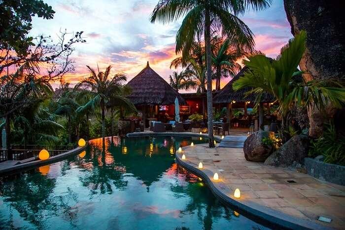 The main pool at the Valmer Resort