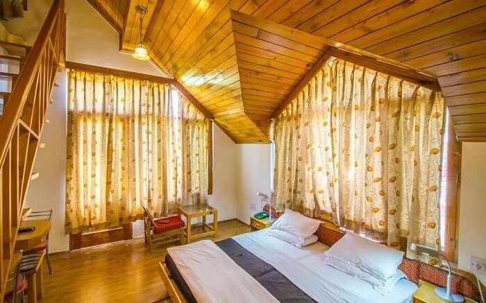 Wood Valley Cottages bedroom