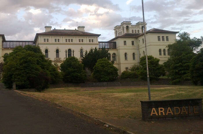 The Aradale Lunatic Asylum that is one of the most haunted places in the world