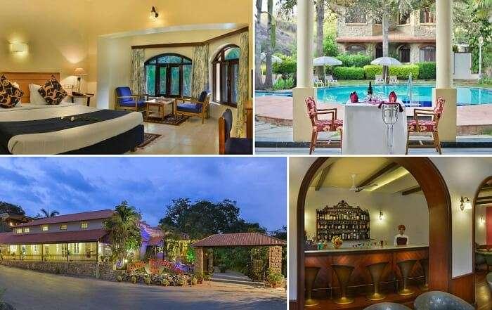 Many views from the Cama Rajputana Club Resort in Mount Abu