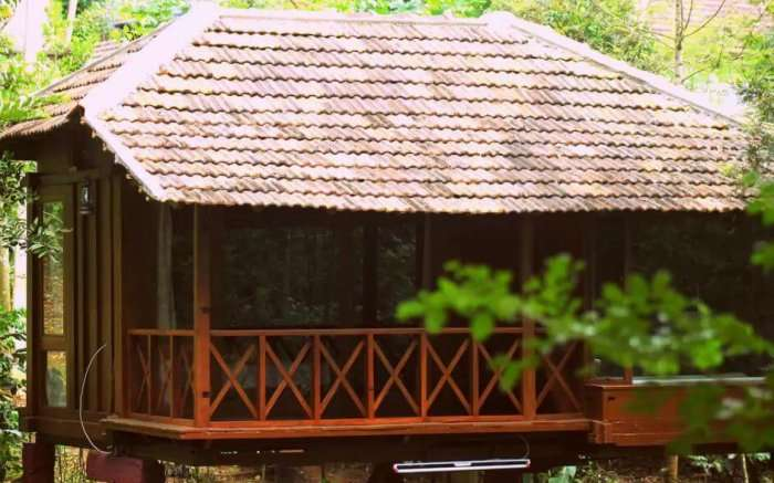 The granary in coorg
