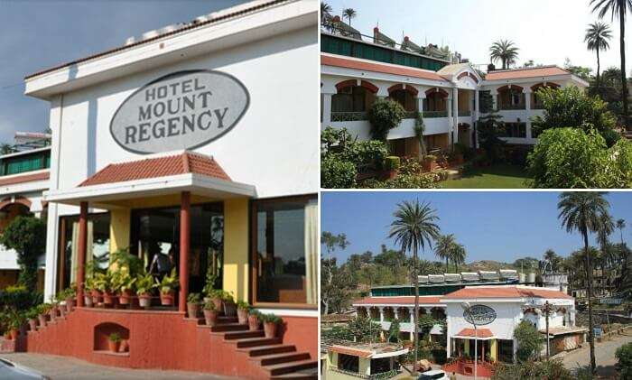 Many views from the Hotel Mount Regency in Mount Abu