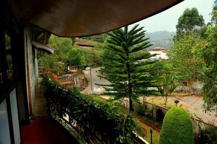 balcony pavithram homestay