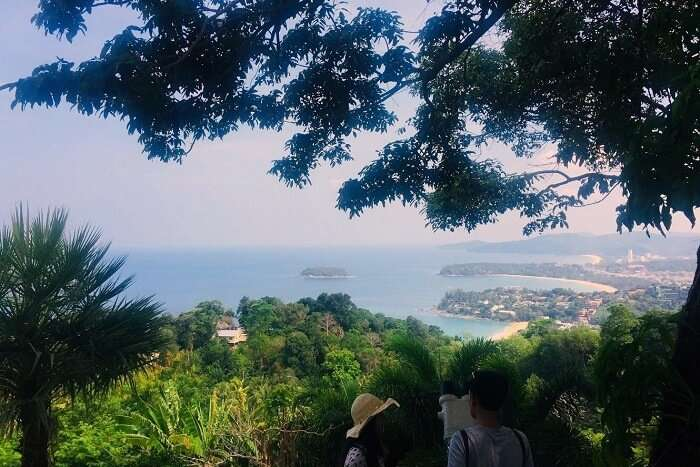 pooja thailand trip day 8 phuket city view
