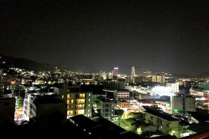 pooja thailand trip day 7 night view