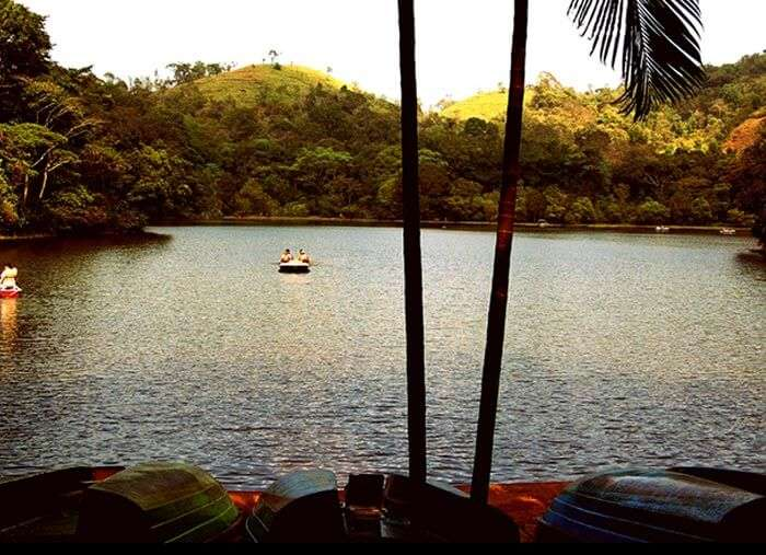 The beautiful lake in Wayanad