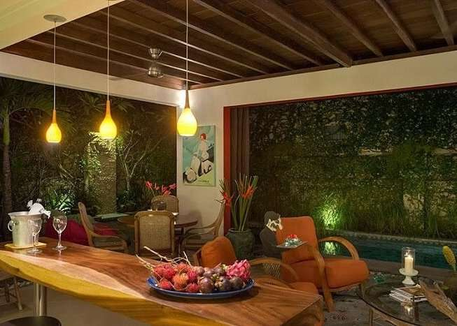 chic lounge area in rumah 88