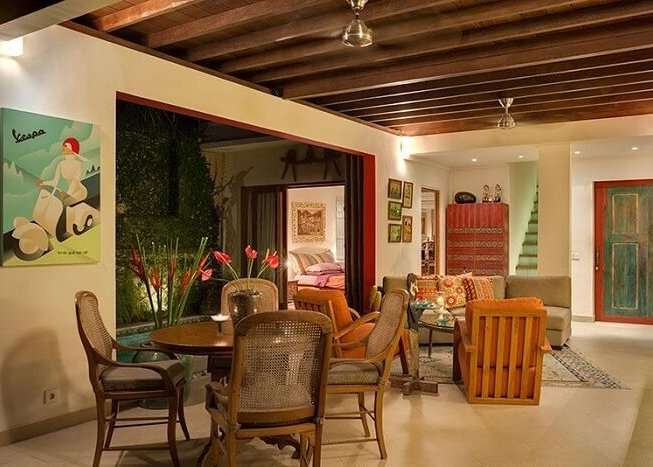 quirky lounge area in rumah 88