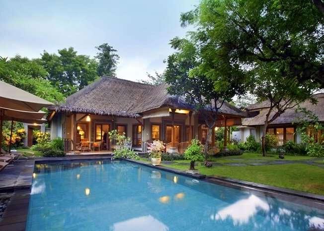 Stay at the luxurious Taman Sari villa