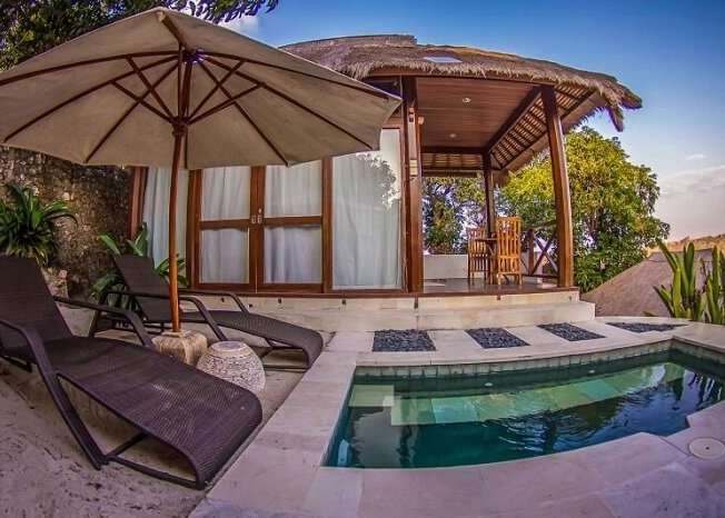 gorgeous private pool in twin island villa