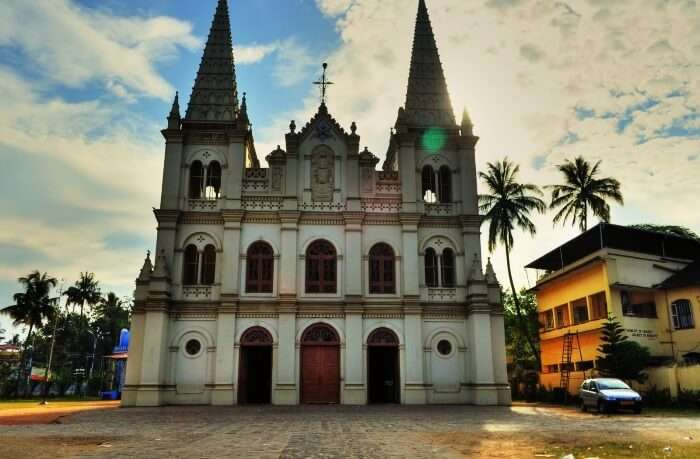 Architecture tour in Fort Kochi is the best holiday destinations in Kerala