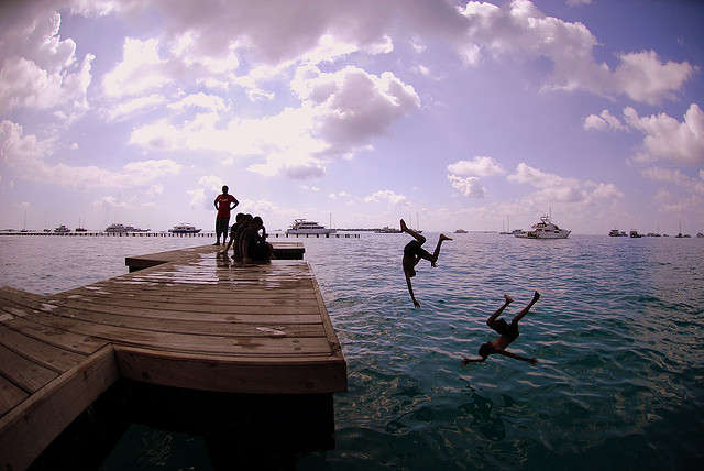 Adventurous Water sports for couples in Maldives