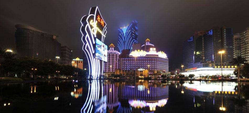 Macau City Night, an attracting tourist place, macau