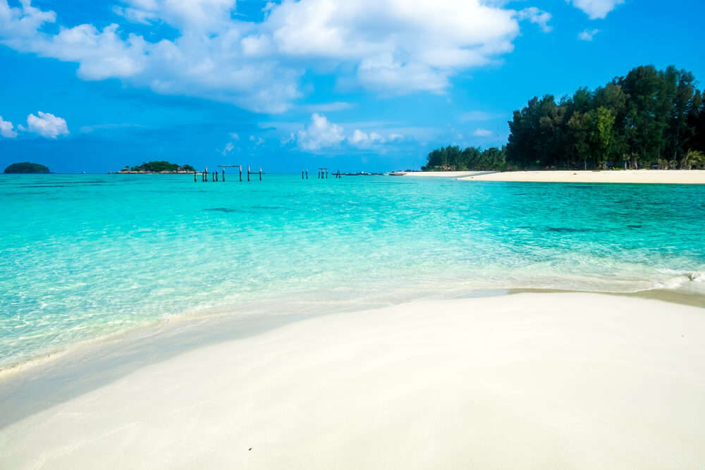 The gorgeous Andaman islands