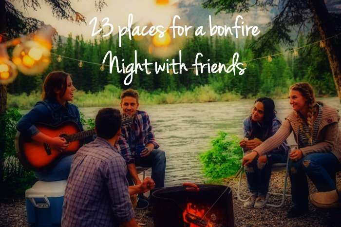 23 places for bonfire night with friends