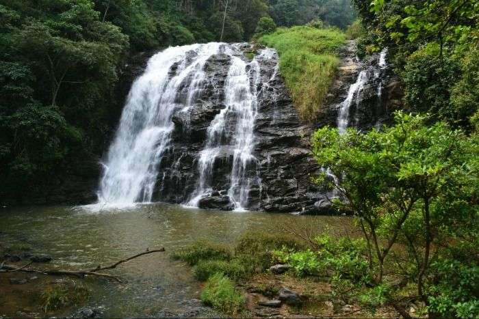 Beautiful Abbey Falls in Madikeri, Coorg