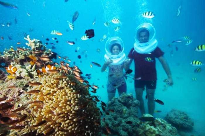 Scuba Diving for honeymoon couples in Andaman