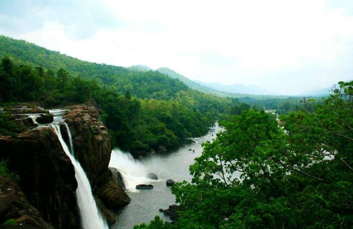 Athirapally falls - gorgeous picturesque destination in Kerala