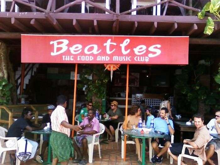 Seafood and continental breakfast at Beatles Restaurant