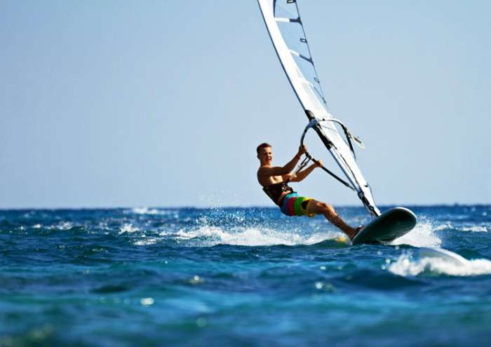 Bentota Beach - a best place for water sport activities in Sri Lanka