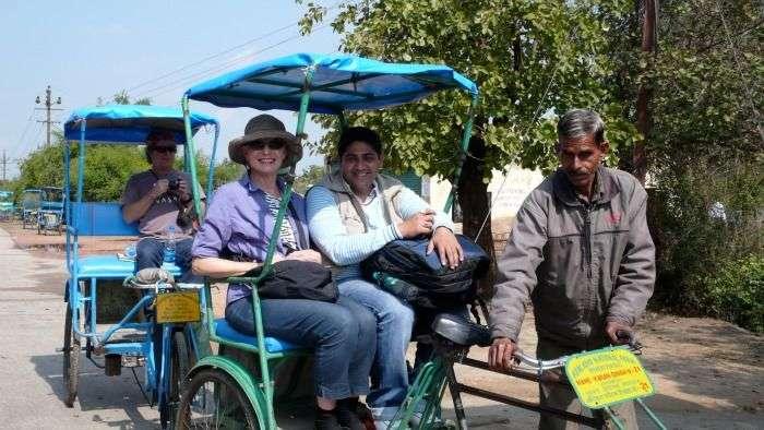Explore the sanctuary on a rickshaw ride, Bharatpur