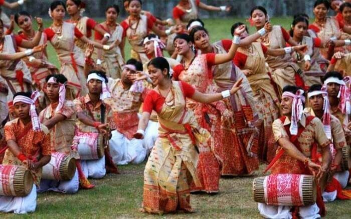 Bihu festival celebration in Assam