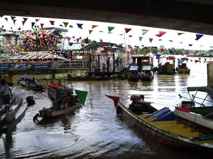 Boat trip - a great escape for a fantastic day trip in Bangkok
