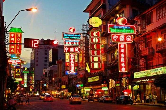 Chinatown, add it in your list of places to visit in Thailand