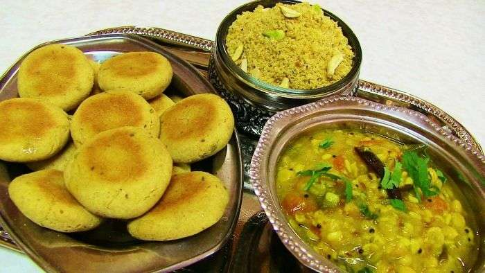 Dal-Baati-Churma - Most famous Rajasthan food