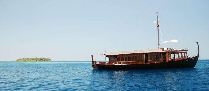 Take a ride on dhoni stella, Maldives