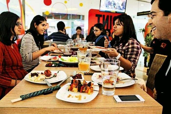 Fairly modern restaurants for eating out in Kerala
