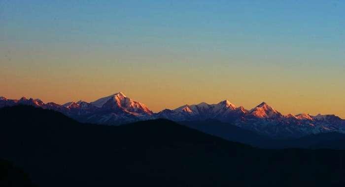 Beautiful scenes of the climbable Gorichen Peak, Tawang Arunachal Pradesh