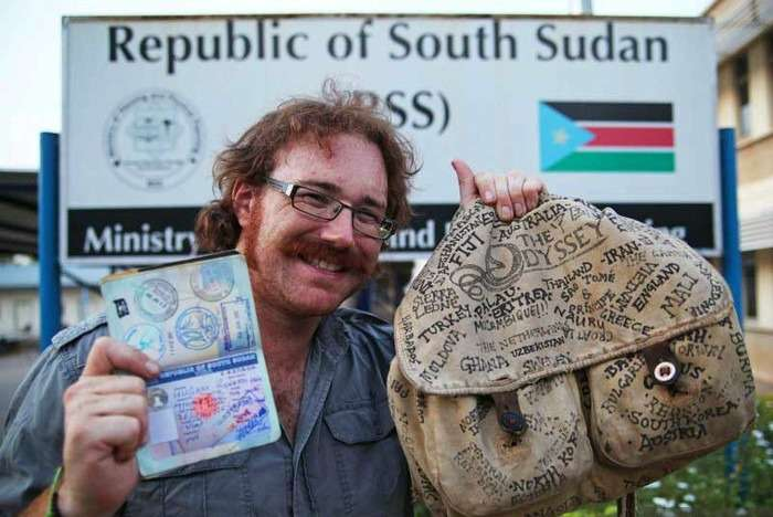 Graham Hughes - Travelled 201 countries without a plane