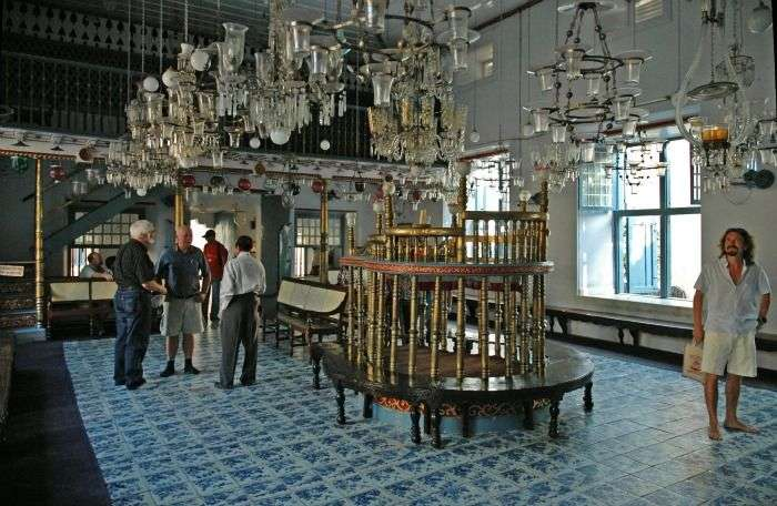 Jewish Synagogue - spectacular place of worship, Cochin