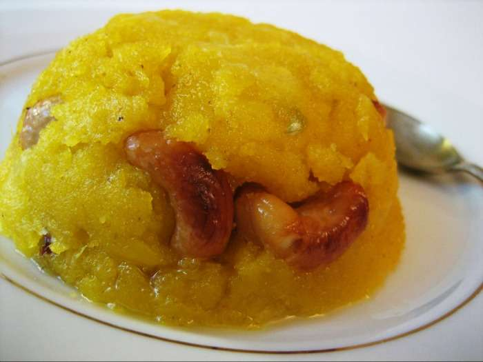 Keshari Bhath Banglore - scrumptious dessert originated in Karnataka