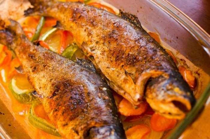 Kullu Trout - a famous dish made of Tout Fish of Himachal