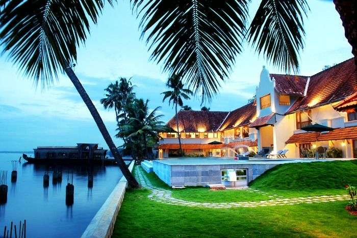 Magnificent lake view from Lemon Tree Vembanad Lake Resort, Kerala