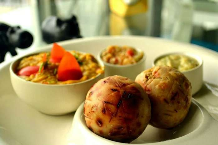 Litti Chokha - an authentic Bihari cuisine dish