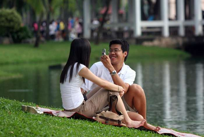 Lumphini Park, one of the best places to visit in Thailand