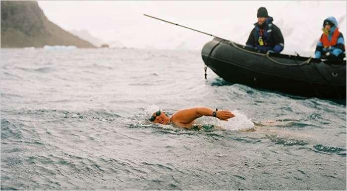 Lynne Cox - The Swimming Legend