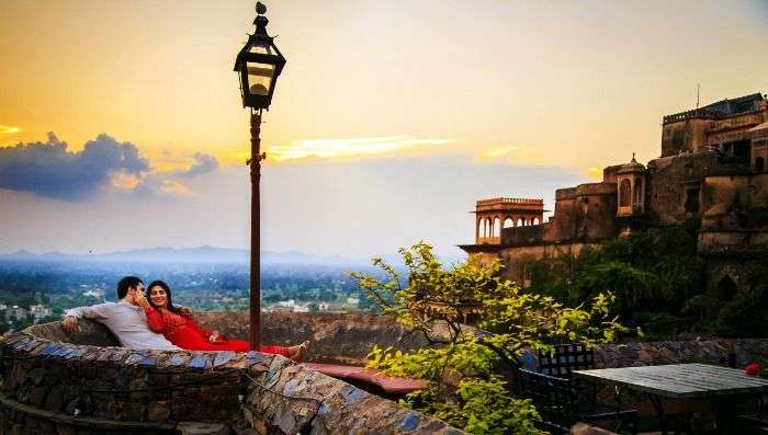 Bonfire at Neemrana Fort for an absolutely luxurious getaway, Alwar