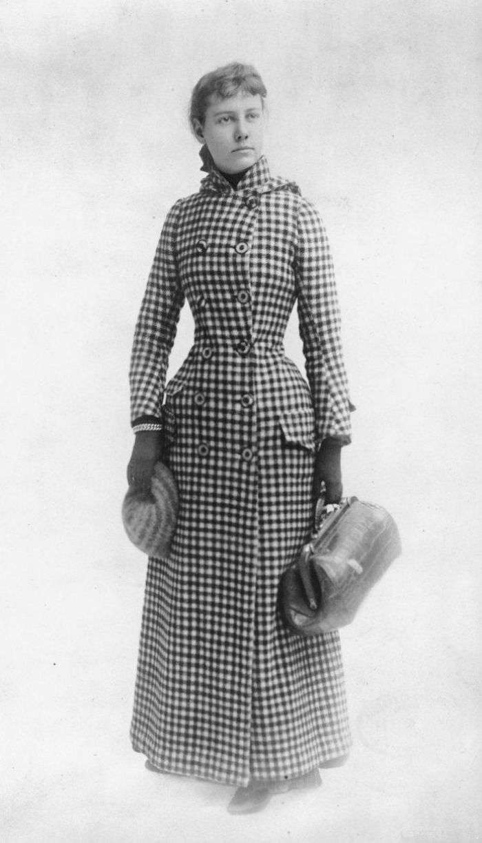 Nellie Bly - Around the world in seventy two days