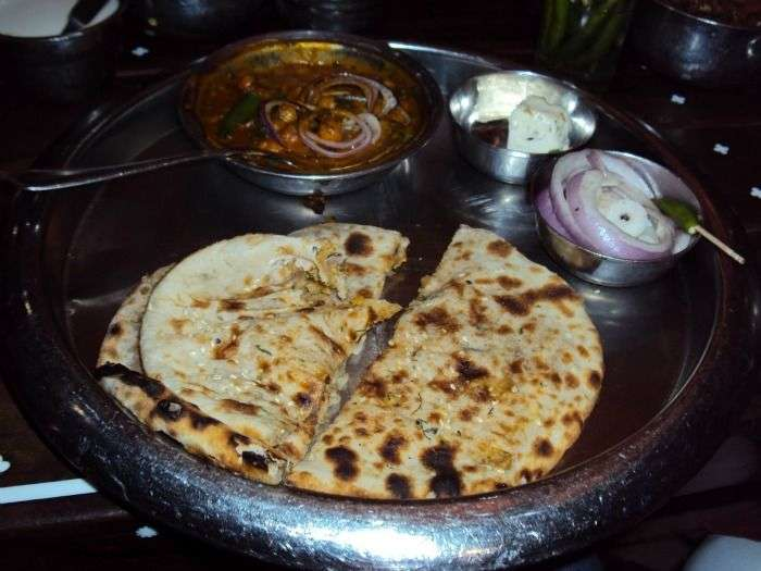 Have parathas at Murthal near Delhi