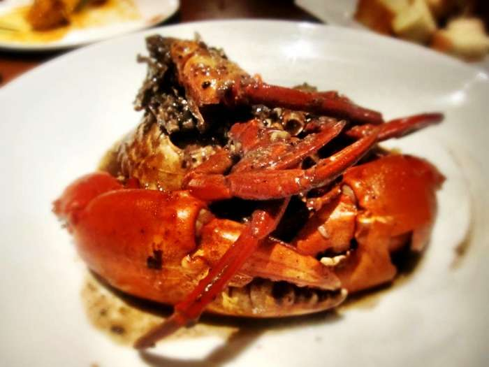 Pepper Crab at Ministry of Crab, Colombo, Sri Lanka