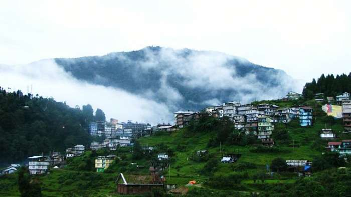 Solace at Ravangla for peace and snow clad peaks