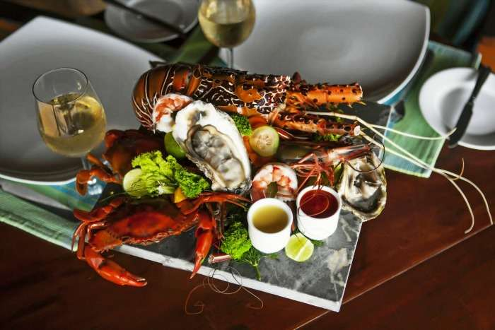 Traditional Seafood at Seafood Cove, Colombo, Sri Lanka