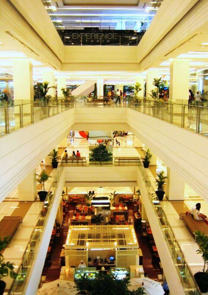 Siam Paragon - second largest mall in South East Asia