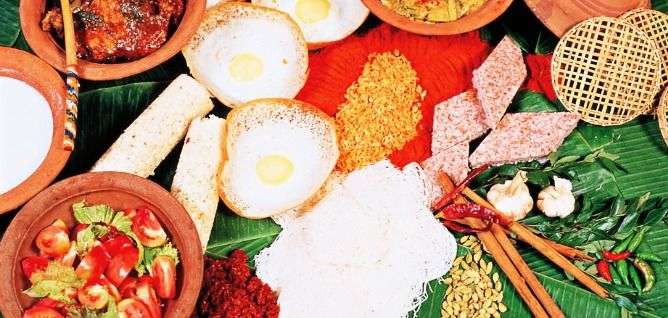 Traditional Sri Lanka Cuisine
