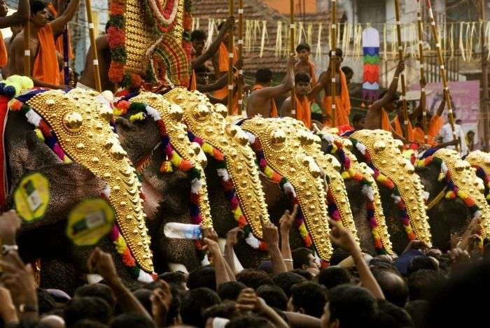 Thrissur Pooram festival, a trip to the cultural attraction of Kerala