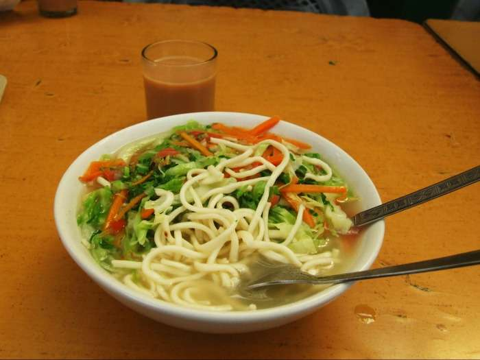 Taste Thukpa in Darjeeling - traditionally a Tibetan food